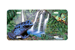 "Airstrike® 215-""Rainforest Frogs"" License Plate"