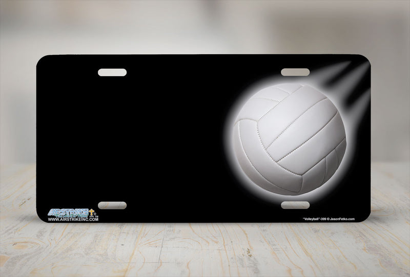 "Airstrike® 399-""Volleyball"" Volleyball License Plates"