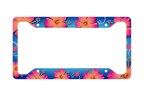 Airstrike® Hawaiian License Plate Frame-30-554