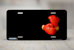 "Airstrike® 495-""Boxing Gloves""-Horse License Plates"