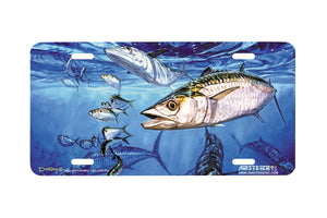 "Airstrike® Fishing License Plates 5007-""Kings and Threadfins"" License Plate"