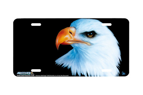 "Airstrike® 223-""American Bald Eagle"" License Plate"