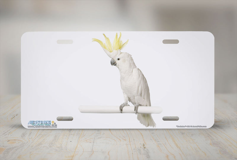 "Airstrike® 442-""Cockatoo"" Bird License Plates"