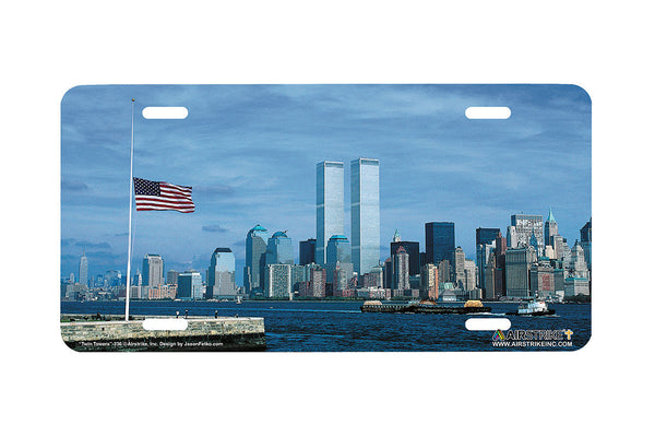 Airstrike® Twin Towers License Plate-236