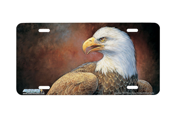 "Airstrike® 3425-""Bald Eagle"" Bald Eagle License Plate"