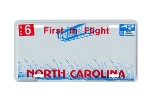 "Airstrike® 646-""North Carolina State License Plate""-Vanity License Plate"