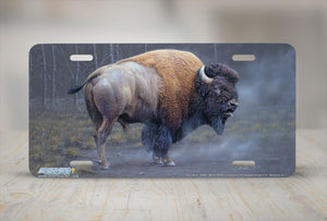"Airstrike® 8306-""Dust Devil""-American Buffalo License Plate"