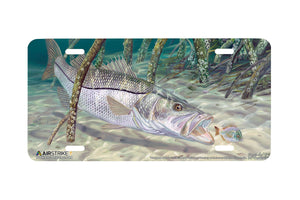 "Airstrike® Fishing License Plates 5228-""Mangrove Monster"" License Plate"