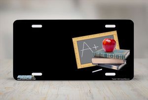 "Airstrike® 463-""Teacher""-Teacher License Plates"