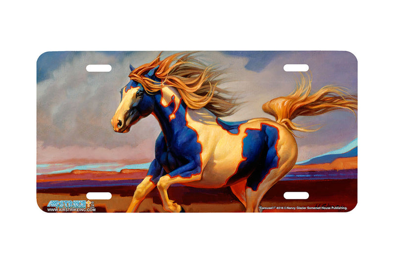 "Airstrike® 6516-""Carousel I"" Horse License Plates"