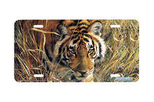 "Airstrike® 3141-""Tall Grass Tiger""-License Plate"