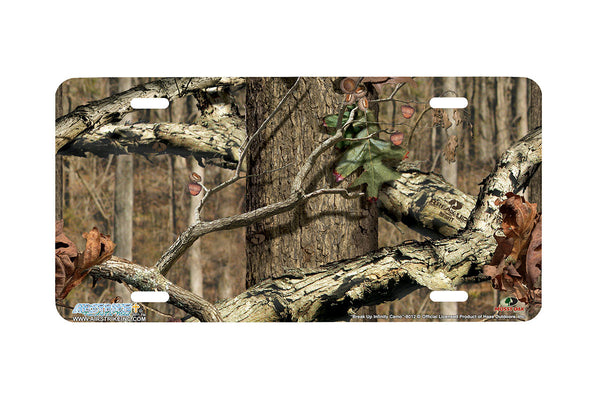 "Airstrike® Mossy Oak License Plate 8012-""Break Up Infinity Camo""-Mossy Oak Camo License Plate"