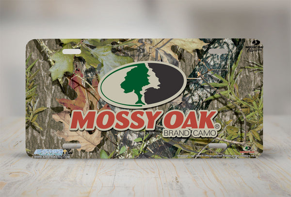 Airstrike® Mossy Oak License Plate 8004-