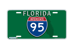 "Airstrike® 618-""Florida I-95""-License Plate"