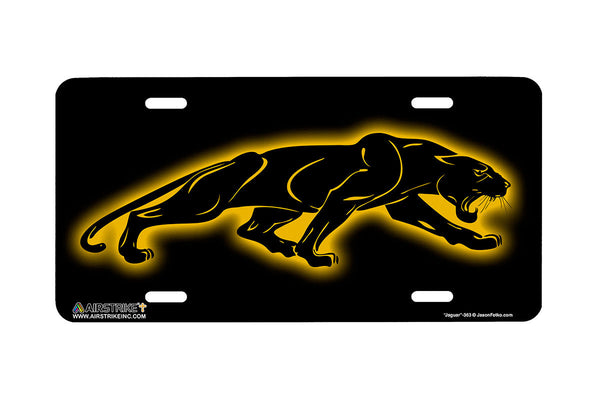 "Airstrike® 363-""Jaguar"" Jaguar Cat License Plates"