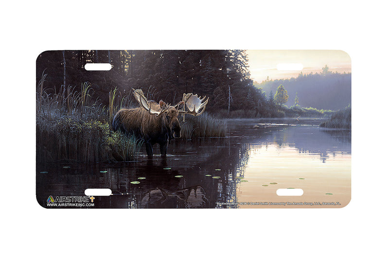 "Airstrike® 8236-""Backwater Bull""- Moose License Plate"