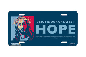 "Airstrike® Christian License Plate 7216-""Hope""-Christian License Plate"