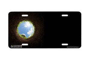 "Airstrike® 402-""Hole in One"" Golf License Plates"