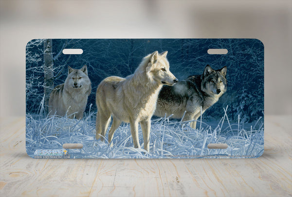 Airstrike® Wolf License Plate 8267-