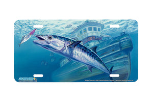 "Airstrike® Fishing License Plates 5222-""Sunken Treasures"" License Plate"