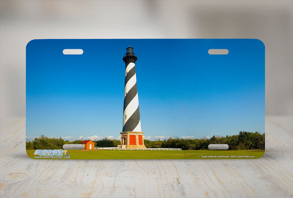 "Airstrike® Lighthouse License Plate 650-""Cape Hatteras Lighthouse"" License Plate"