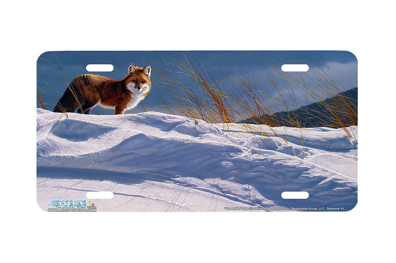 "Airstrike® Fox License Plate 8285-""The Drifter""-Fox License Plate"