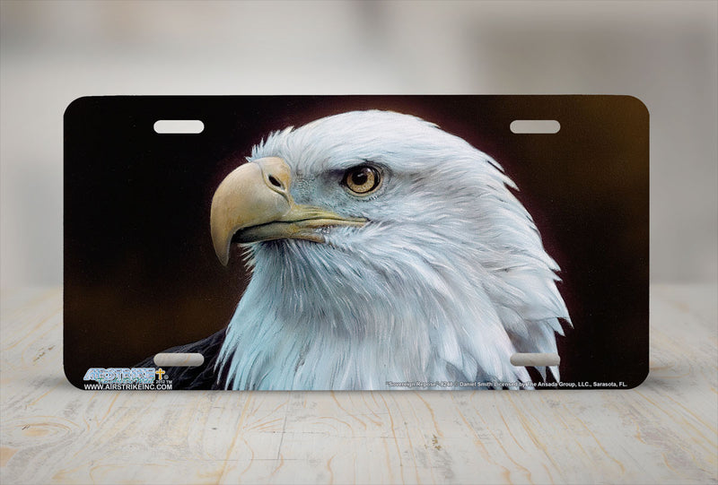 "Airstrike® 8248-""Sovereign Repose""- Eagle License Plate"