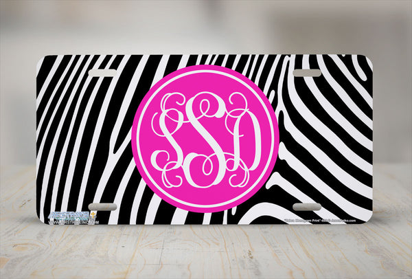 Monogrammed License Plates Monogram License Plate Monogrammed Car Tags