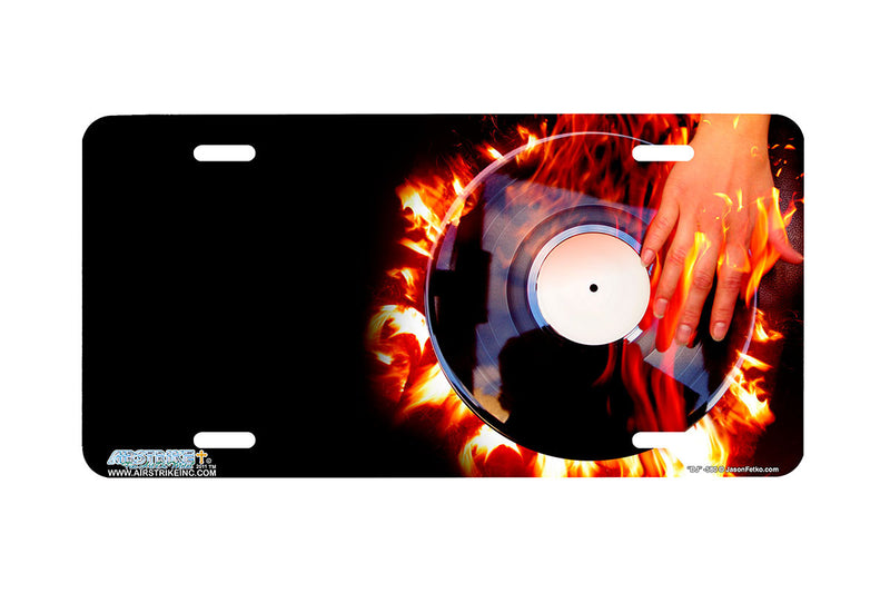 "Airstrike® 580-""DJ"" Disc Jockey License Plate"