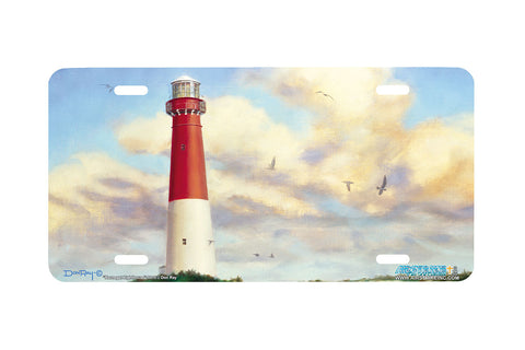 "Airstrike® Lighthouse License Plate 5015-""Barnegat Lighthouse"" Beach License Plate"
