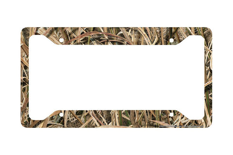 Airstrike® Camo License Plate Frame, Mossy Oak Car Tag Frame, Camo License Plate Holder, Mossy Oak License Plate Frame Shadow Grass Blades-30-8040