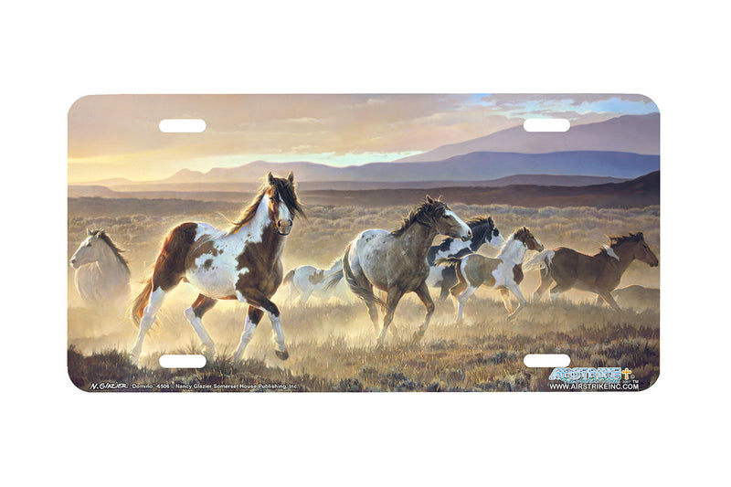 "Airstrike® 6506-""Domino"" Horse License Plates"
