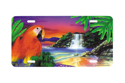 "Airstrike® 208-""Parrot Cove"" License Plate"