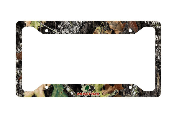 Airstrike® Camo License Plate Frame, Mossy Oak Car Tag Frame, Camo License Plate Holder, Mossy Oak License Plate Frame Break Up Camo-30-8000