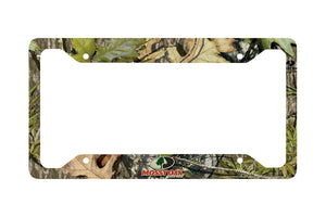 Airstrike® Camo License Plate Frame, Mossy Oak Car Tag Frame, Camo License Plate Holder, Mossy Oak License Plate Frame Obsession-30-8004