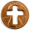 Cross Penny, Cross Pennies, Cross Penny's for Christians