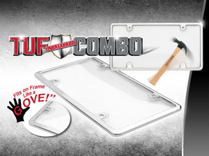 Tuf Combo Kit - Black/Clear