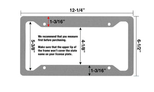 Airstrike® American Flag License Plate Frame, American Flag License Plate Holder, American Flag Frame-30-296
