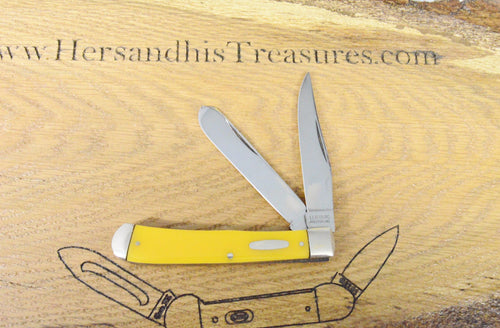 LL Bean Freeport Maine Large Trapper Pocket Knife www.hersandhistreasures.com/collection/u-s-a-knives