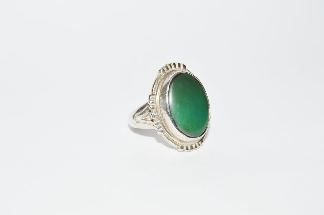 Jade .925 Sterling Silver Ring www.hersandhistreasures.com/collections/sterling-silver-jewelry
