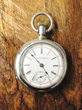 Load image into Gallery viewer, Antique 1894 American Waltham Watch Co Appleton Tracy & Co 18S Pocket Watch www.hersandhistreasures.com/collections/watches-pocket-watches