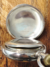 Load image into Gallery viewer, Antique 1894 American Waltham Watch Co Appleton Tracy & Co 18S Pocket Watch