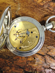 Antique 1894 American Waltham Watch Co Appleton Tracy & Co 18S Pocket Watch