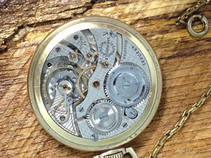 1926 Illinois Watch Co Illinois Sterling 12S 17J Pocket Watch