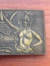 Load image into Gallery viewer, Tiffany Studio New York Brass Coca-Cola Belt Buckle