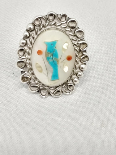 www.hersandhistreasures.com/products/Nila-Cook-Johnson-Blue-Bird-Inlay-Sterling-Silver-Ring