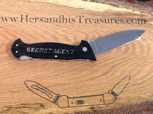 O.M.O.R. G-2 Japan Secret Agent Large Lockback Pocket Knife www.hersandhistreasures.com/collections/u-s-a-knives
