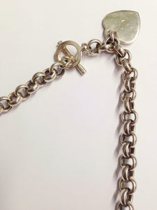 Rolo .925 Sterling Silver Chain Link Necklace