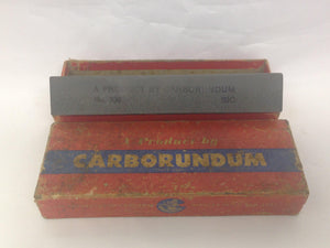 Vintage 109 SIG Combination Sharpening Stone By Carborundum 6 x 2 x 1
