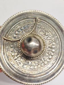Mexican Sombrero Hat Ring Holder Sterling Silver